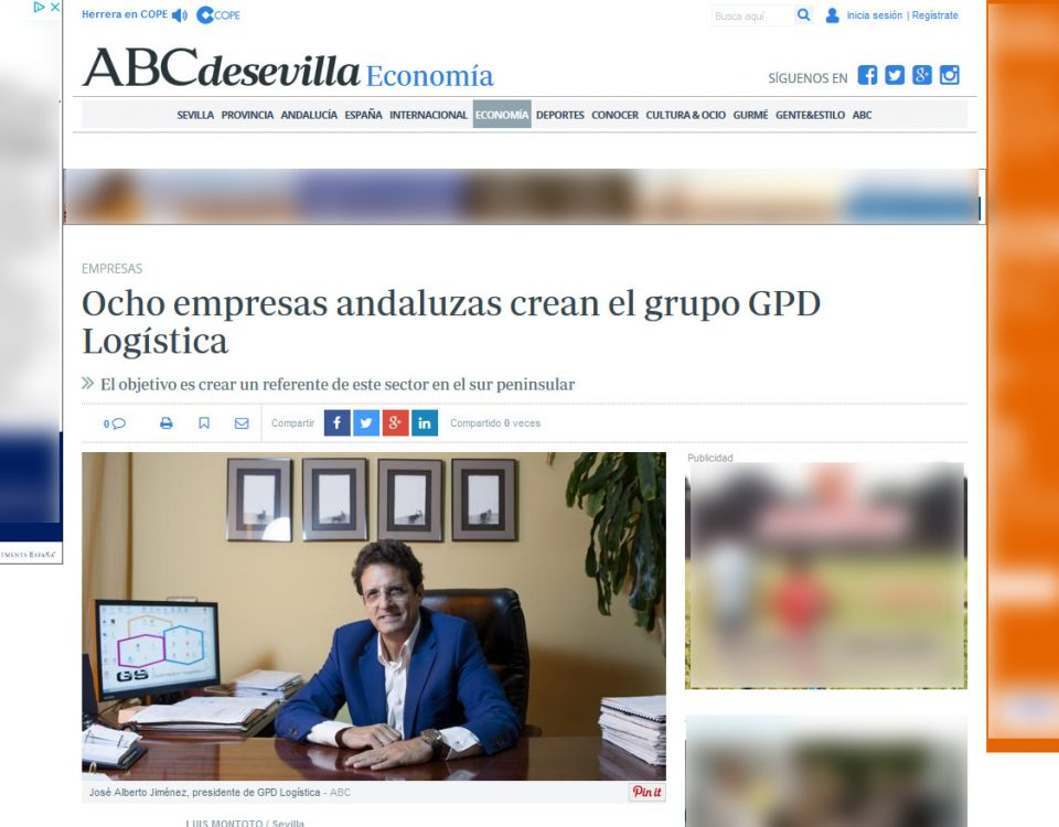 Noticia GPD en ABC Sevilla